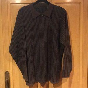 Men's wool blend sweater